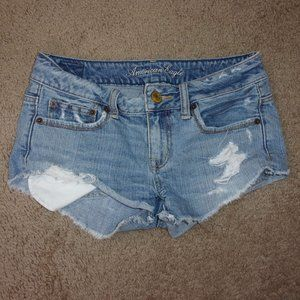 American Eagle Jeans Shorts Super short